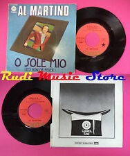 LP 45 7''AL MARTINO O sole mio it's now or never The more i see you no cd mc dvd