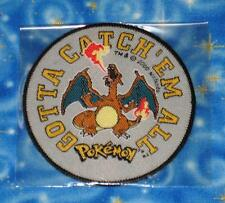 Pokemon Vintage Charizard Gotta Catch Em All Patch Official Release dated 2000
