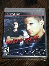 Brand New Prison Break: The Conspiracy Game (Sony PS3, 2010) RARE Damaged Case