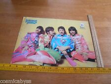The Beatles Sgt. Peppers Spanish 10x14 advertising cardstock poster 1970's