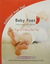 Baby Foot Deep Exfoliation For Feet peel, lavender scented, 2.4 fl.oz.