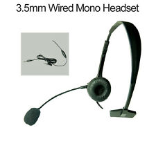 Over-the-Head Mono Wired Boom Mic Headset for Apple iPhone