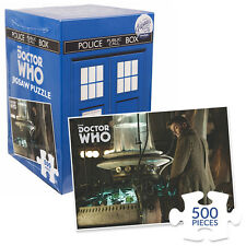 New Doctor Who 500 Piece TARDIS Boxed 10th Jigsaw Puzzle David Tennant Official