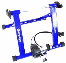 BLUE Ergolynx Cycle Fitness Turbo Trainer Bike Indoor Exercise Magnetic Force