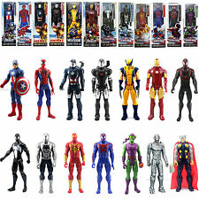 12'' Toy Movie The AVENGERS Marvel Titan Hero Iron man Spider man Action Figure#