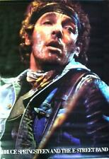 BRUCE SPRINGSTEEN AND THE E STREET BAND ROCK POSTER