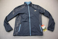 NORTH FACE DWR Mens Blue Wicking FlashDry Reflective Running Jacket  NWT  S  $99