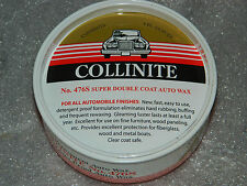 COLLINITE 476S AUTO CAR BOAT DETAIL DOUBLE COAT WAX WOOD METAL FIBERGLASS FINISH