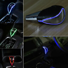 Touch Activated Blue LED Car Gear Stick Shifter Shift Knob Lever Cover Universal