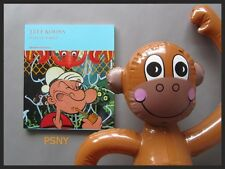 JEFF KOONS POPEYE SERIES BOOK + POP ART INFLATABLE MONKEY COLLECTIBLE SET