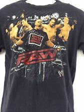 WWE RAW John Cena Hustle Loyalty Respect black t shirt youth size XXL 2XL