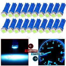 100 T5 1SMD 12V mixed color Car LED white/red/green/pink/ice blue Dashboard Bulb