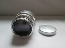 Leica Leitz Chrome 90mm Tele-Elmarit Lens. 1st Version 1964.