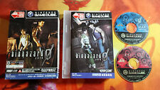 BIOHAZARD ZERO GAMECUBE GAME CUBE JAP JP INVIO 24/48H