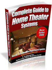 COMPLETE GUIDE TO HOME THEATER SYSTEMS PDF EBOOK FREE SHIPPING RESALE RIGHTS