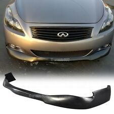 Fit For 08-13 Infiniti G37 Coupe 2Dr RA Style Front Bumper Lip