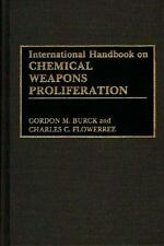 International Handbook on Chemical Weapons Proliferation-ExLibrary