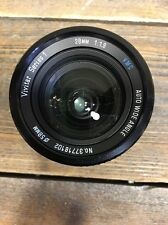 Vivitar Series 1 28mm f/1.9 MF Lens MD VMC AUTO WIDE ANGLE