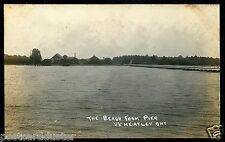 985 - WHEATLEY Ontario 1910s Chatham-Kent. Beach from Pier.Real Photo PC..(3-17)