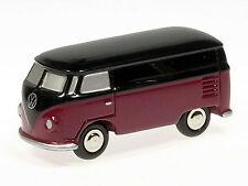 Schuco Piccolo VW T1 Kasten rot-schwarz # 501321003