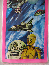 Vintage Japanese R2-D2 C-3PO Lupin III UFO kite Japan Star Wars space shuttle !!