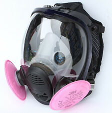3 in1 Painting Spraying Similar For 6800 Gas Mask Full Face Facepiece Respirator