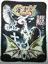 OZZY OSBOURNE Bark At The Moon Original Vintage 1980`s Printed Sew On Patch