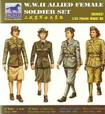 Bronco 1/35 CB35037 WWII Allied Female Soldier Set