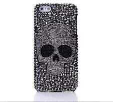 Gray Skull Rhinestone Crystal Case cover for Apple iphone7 4.7'  A-209