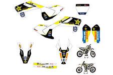 Husqvarna TC125 FC250-350-450 FS450 2016 Full Graphics Kit STICKER decals graphi