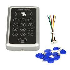 125KHz Weatherproof RFID Card Access Control Keypad Support 1000 Users W/ Tags