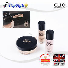 CLIO Kill Cover Liquid Founwear Cushion 15g SPF50+/ Refill 20g 21 LINEN + Primer