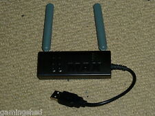 MICROSOFT XBOX 360 WIRELESS N NETWORKING ADAPTER Network Gaming USB WiFi Black