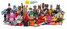 Lego 71017 The Batman Movie Minifigure : Complete Set of 20 Minifigures SEALED