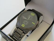 Kenneth Cole Unlisted Mens Stainless Steel Watch UL 4655