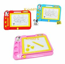 Magic Magnetic Plastic Drawing Board Color Changing Slate For Kids