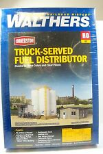 HO SCALE WALTHERS 933-4038 TRUCK-SERVED FUEL DISTRIBUTOR BUILDING KIT