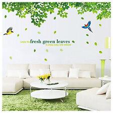 Wandtattoo Vögel Blatt Wandaufkleber Kinderzimmer Wand Sticker 60*90CM