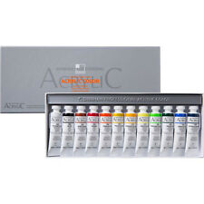 New listing Acrylic Color Paint Set Shinhan Professional 12 Colors 20ml Tube, Artist Drawing