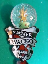 "Rare Nice Magic Hat Crystal Ball Summer Wacko 12"" Beer Keg Tap Handle Marker"