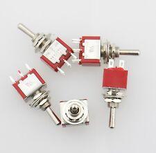 5 Stück AC 2A 250V / 5A 125V AN/AUS/AN SPDT Mini 3 Positions Kippschalter