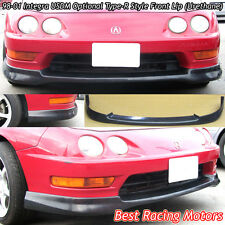 USDM Optional TR Style Front Lip (Urethane) Fits 98-01 Acura Integra 2dr