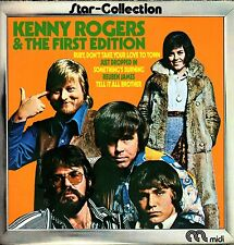 "KENNY ROGERS & THE FIRST EDITION - Star Collection 1973 (Vinile=M) 12"" LP IMPORT"