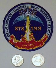 """Patch: NASA Mission Insignia for STS-133, 4"""" dia. DISCOVERY'S FINAL FLIGHT. NEW."""