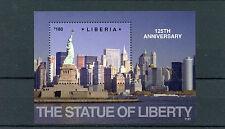 Liberia 2011 MNH Statue of Liberty 125th Anniversary 1v S/S New York Skyscrapers
