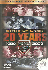 State Of ORIGIN 20 Years 1980 - 2000 Collectors 2 Pack Edition