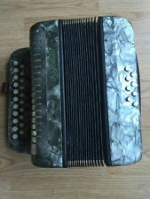 Rigoletto 2 Row Accordion 21 Treble 8 Bass Button U.S. Zone Germany
