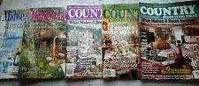 Lot of 5 Country Decorating, Midwest Living, Home Decorating Ideas, Gardening