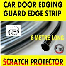 6 M CROMO AUTO PORTA GRIGLIE Edge Striscia PROTECTOR VW POLO TRANSPORTER CITY GOLF