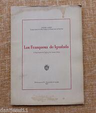 Los Franquesa de Igualada/ Antonio Carner/ 1969/ Ayuntamiento/ BCN/ Igualada